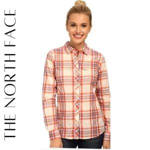 THE NORTH FACE Women's Baylyn Plaid Shirt, M